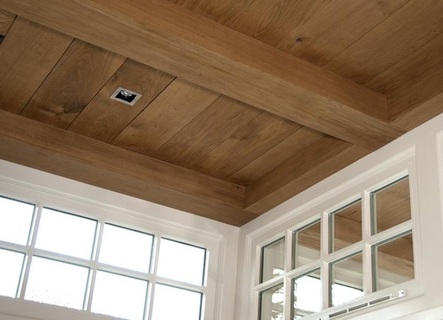 eiken delen plafond wispels bouwservice